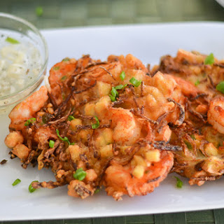 Ukoy (Shrimp and Vegetable Fritters).