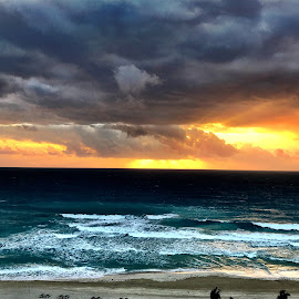Cancun Sunrise #2 by Donna Silva - Instagram & Mobile iPhone