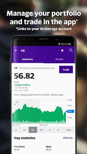 Yahoo Finance: Real-Time Stocks & Investing News 7.0.6 screenshots 2