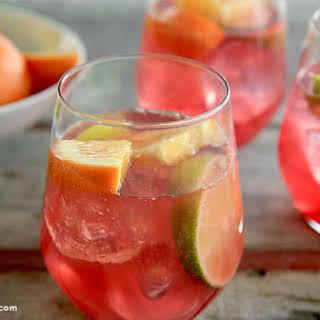 Cranberry Orange Crush Cocktail.