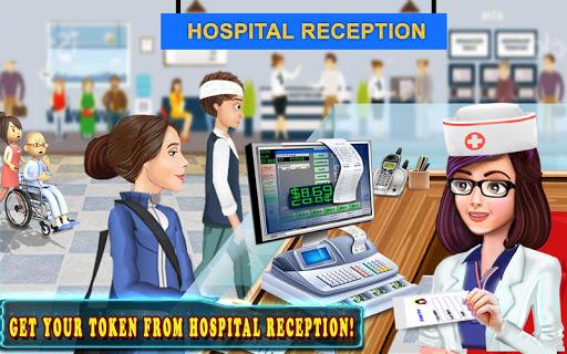 Hospital Cash Register Cashier Games For Girls  screenshots 7