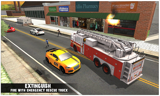 Emergency Rescue Urban City