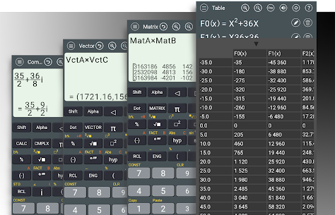 HiEdu Scientific Calculator Pro (MOD, Paid) v1.1.0 4