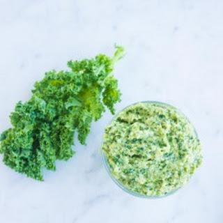 Kale Artichoke Walnut Pesto