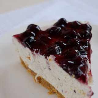 The Brilliant No-Bake Blueberry Cheesecake.