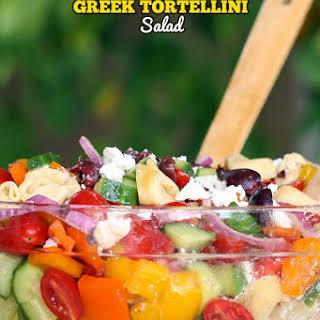 Greek Tortellini Salad.