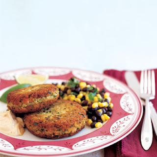 Turkey Cakes with Chipotle Mayonnaise