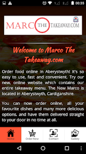 Marco The Takeaway.com- screenshot thumbnail