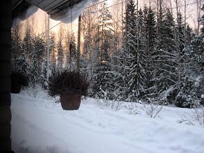 Photo: To 26.1.2012 klo 15.25 keittiön ikkunasta..