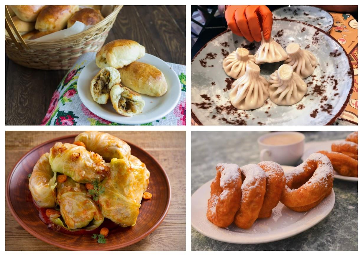 que comer en Rusia platos típicos