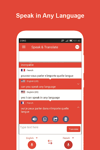 Speak and Translate All Languages Voice Translator screenshot 8