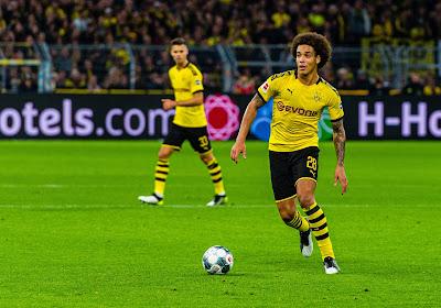 🎥 Axel Witsel ouvre le score d'une splendide reprise sur un corner d'Hazard !