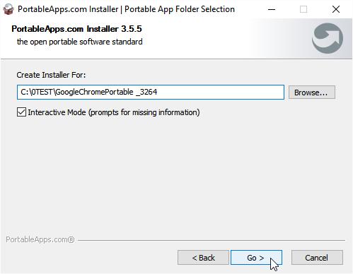 Create installer
