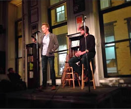 Photo: NYC: Reading from EVERYTHING THAT REMAINS (photo by Tyler Constance)