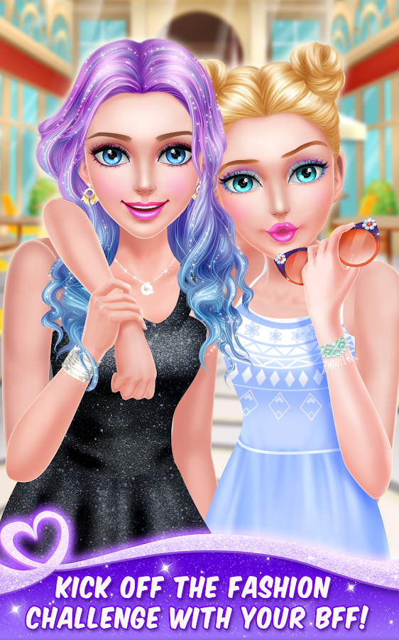 Screenshots of BFF Fashion Challenge Salon for iPhone