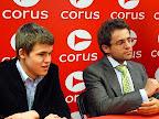 Carlsen en Aronian