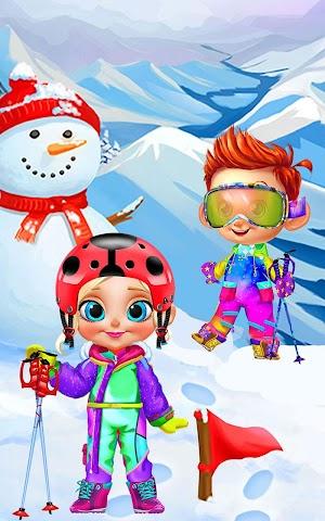android Crazy Winter Trip - Ski Resort Screenshot 6