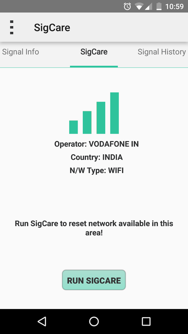Signal Care Screenshot 0