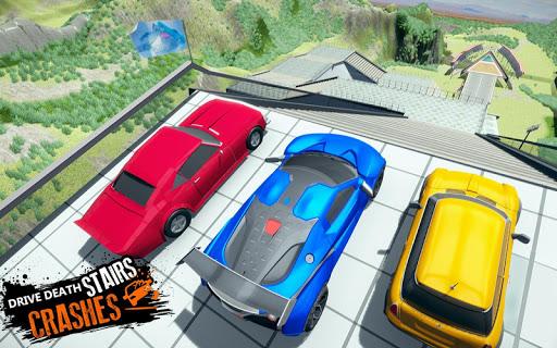 Car Crash Beam  Drive Sim: Death Stairs Jump Down 1.2 screenshots 2