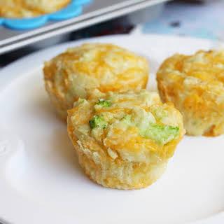 Broccoli Cheddar Muffins.
