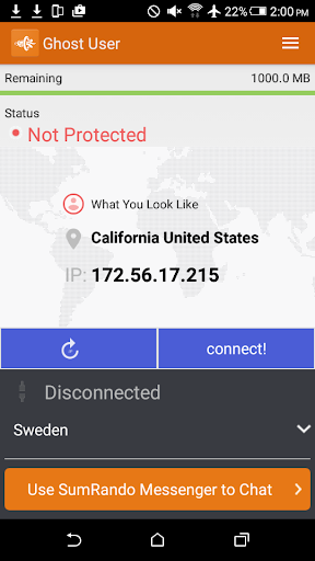 SumRando VPN 3.8 screenshots 2