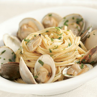 Linguine with Clams & Lemon-Garlic Oil