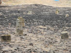 Photo: У подножия кургана расположено старое казачье кладбище. Многие могилы почти сровнялись с землей, но это место хуторяне по праву считают святым и за ним заботливо ухаживают