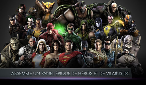 Injustice: Gods Among Us  captures d'u00e9cran 1