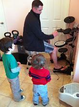 Photo: Boys and Uncle Jason