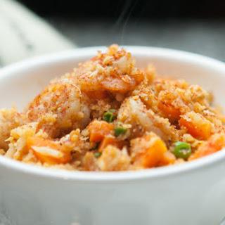 Grain Free Fried Rice Recipe - Grated Cauliflower and Shrimp