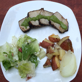30-Minute Pork Chimichurri.
