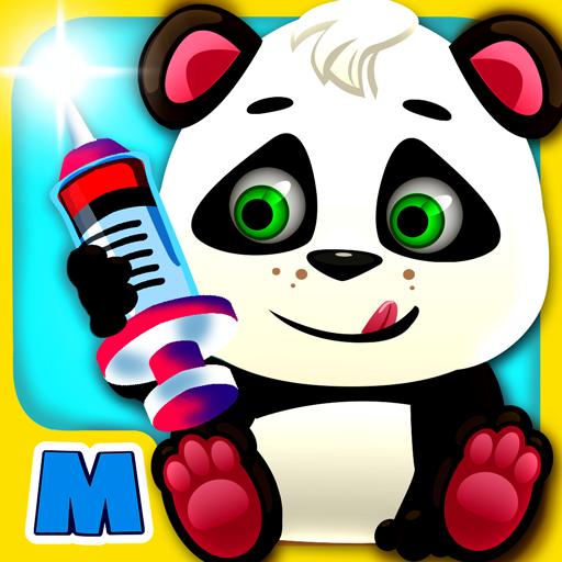 Baby Panda Doctor & Dentist