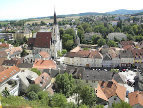 Photo: Melk from the Abbey