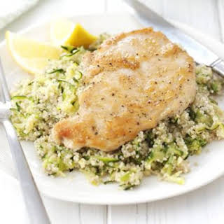 Chicken With Lemon & Courgette Couscous.