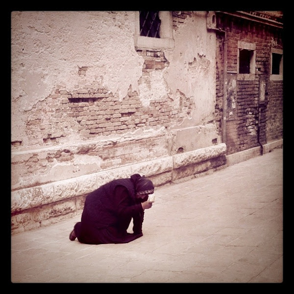 Photo: Richest Beggar in Venice