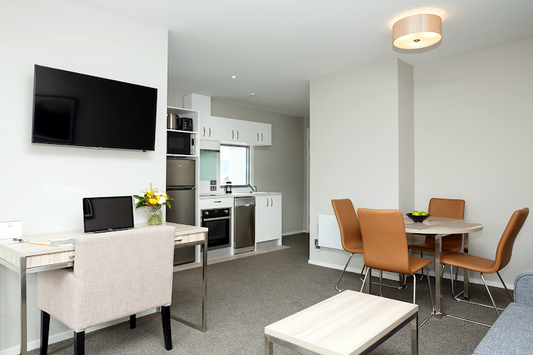 living space at Quest Petone