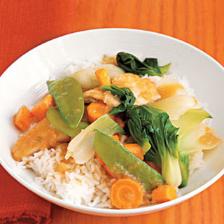 Cantonese Chicken with Vegetables.