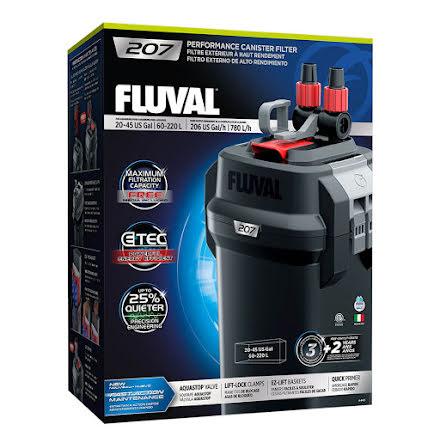 Fluval 207 780l/h 10W Ytterfilter