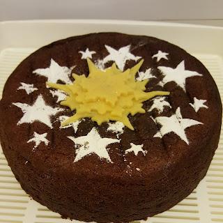 Marzipan Cake.