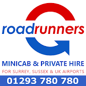 Roadrunners Cabs Surrey Sussex