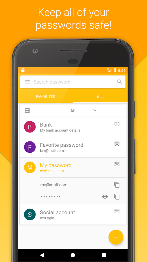 PassK - Password Manager- screenshot