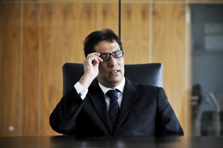 Cape Town high court judge Patrick Gamble took on businessman Iqbal Survé over claims made during a raid on his Sekunjalo offices this week.