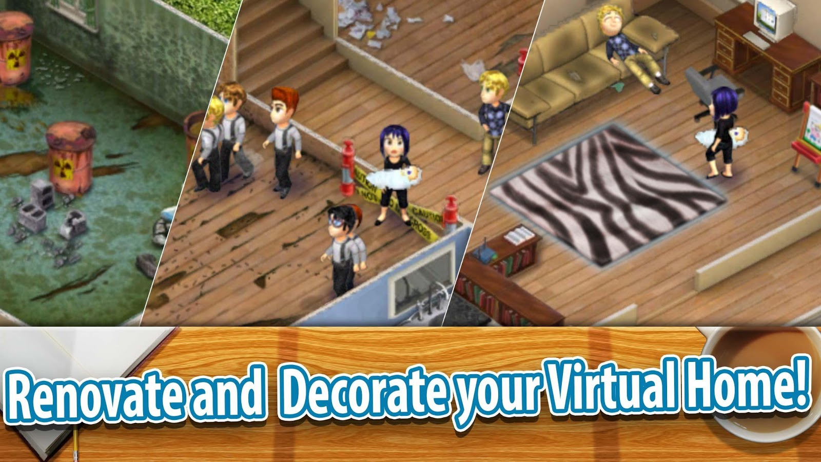 Virtual families 2 android apps on google play Create your house game