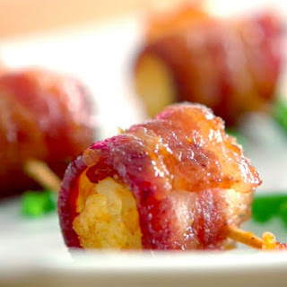 Bacon-Wrapped Tater Tots