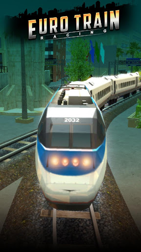 Euro Train Racing 3D screenshot 7