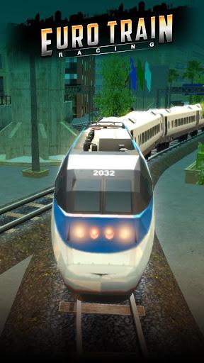 Euro Train Racing 3D screenshot 7