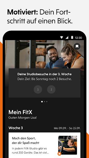 FitX - Fitness App screenshot 3