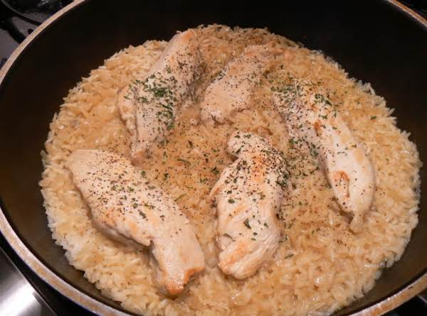 Chicken & Double Jasmine Rice Recipe