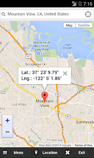 GPS Coordinates Finder- screenshot thumbnail