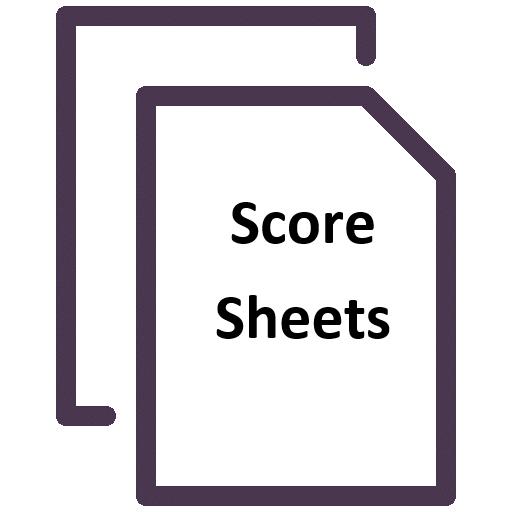 Board Games Score Sheet